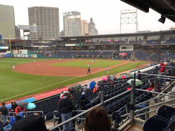 Dunkin' Donuts Park, section: 123, row: E, seat: 14