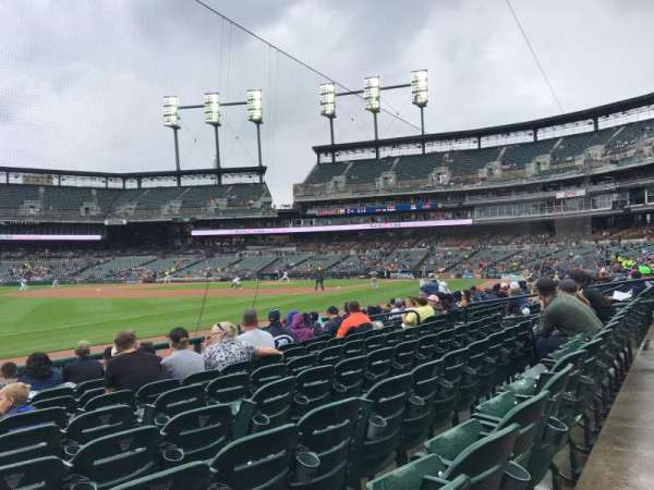 Comerica Park, section: 139, row: 10, seat: 18