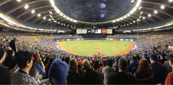 Olympic Stadium, Montreal, section: 406, row: A, seat: 5