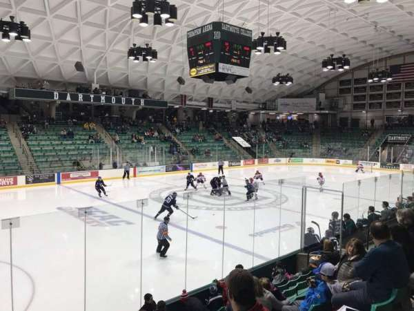 Thompson Arena, section: 5, row: H, seat: 1