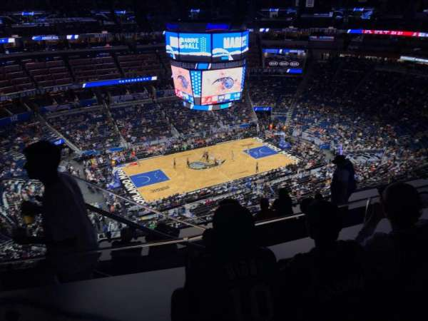 Amway Center, section: 211, row: 11, seat: 19