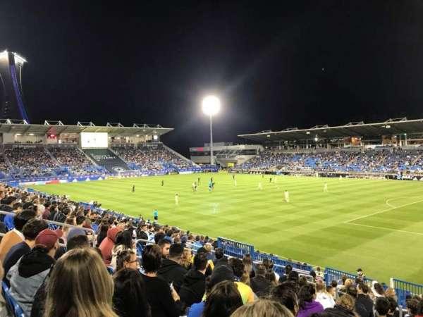 Saputo Stadium, section: 119, row: T, seat: 2
