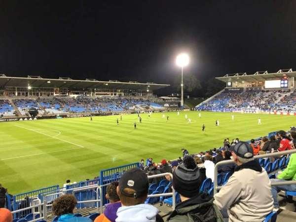Saputo Stadium, section: 127, row: S, seat: 6