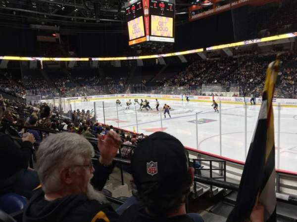FirstOntario Centre, section: 105, row: 11, seat: 1