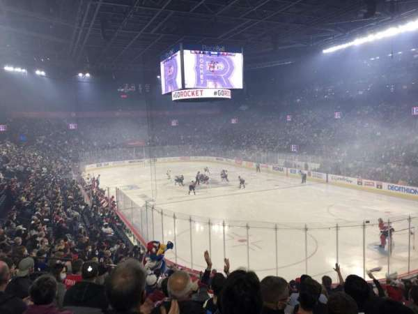 Place Bell, section: 114, row: R, seat: 9