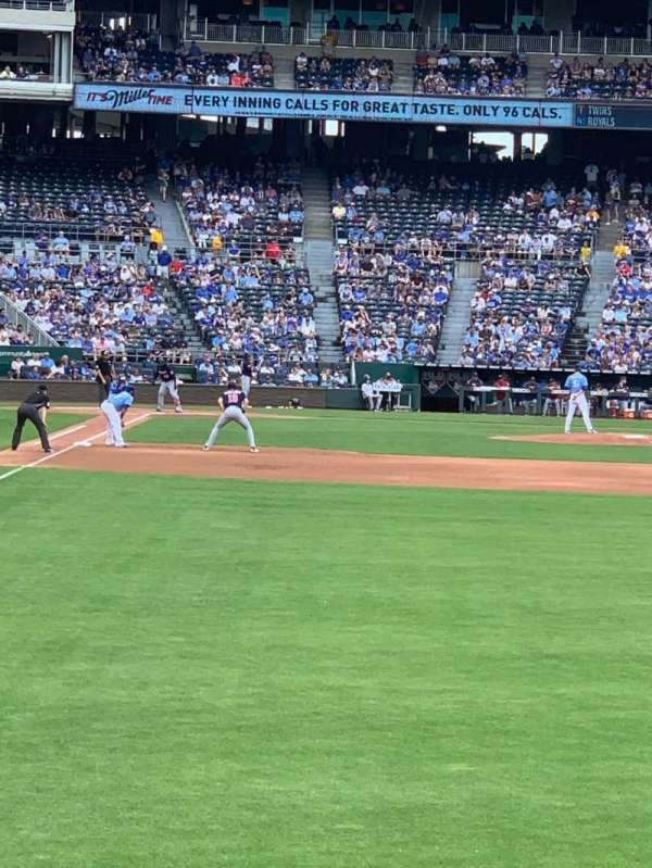 Kauffman Stadium, section: 148, row: J, seat: 12