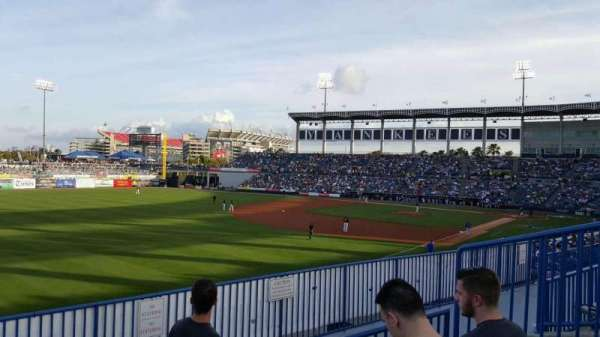 George M. Steinbrenner Field, section: 221, row: C, seat: 6