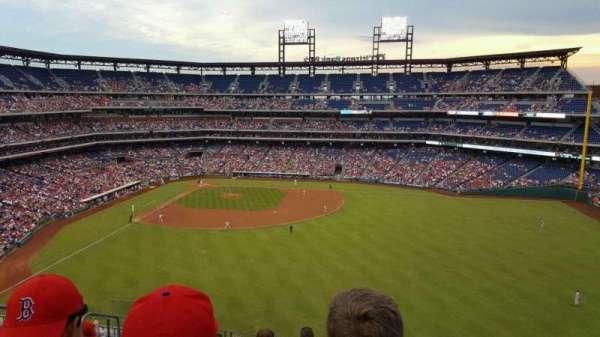 Citizens Bank Park, section: 301, row: 8, seat: 17