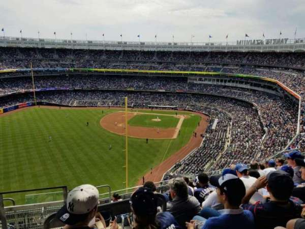 Yankee Stadium, section: 432B, row: 9, seat: 20