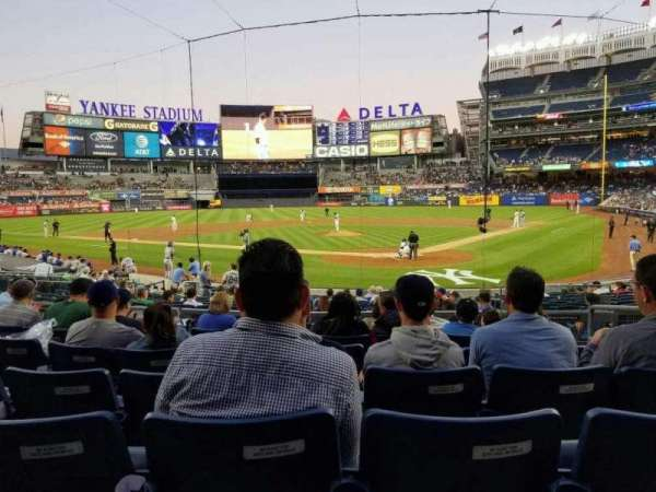 Yankee Stadium, section: 121a, row: 7, seat: 4