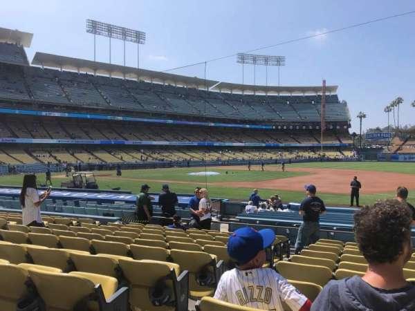 Dodger Stadium, section: 28FD, row: K, seat: 2
