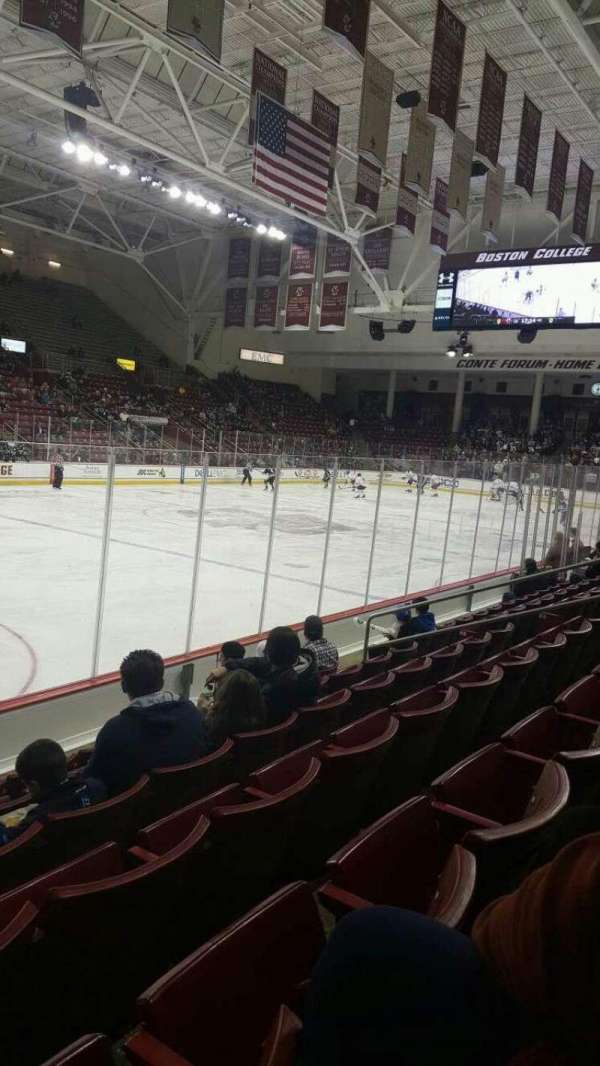Conte Forum, section: O, row: 6, seat: 13