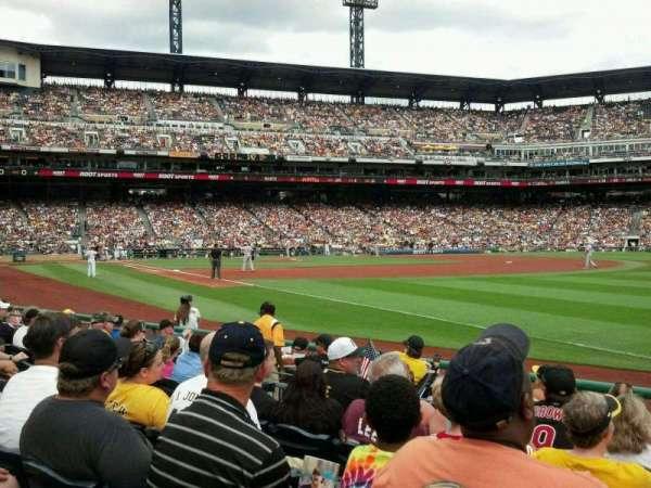 PNC Park, section: 2, row: J, seat: 5