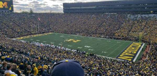 Michigan Stadium, section: 40, row: 89, seat: 2