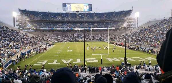 Beaver Stadium, section: NG, row: 43, seat: 15
