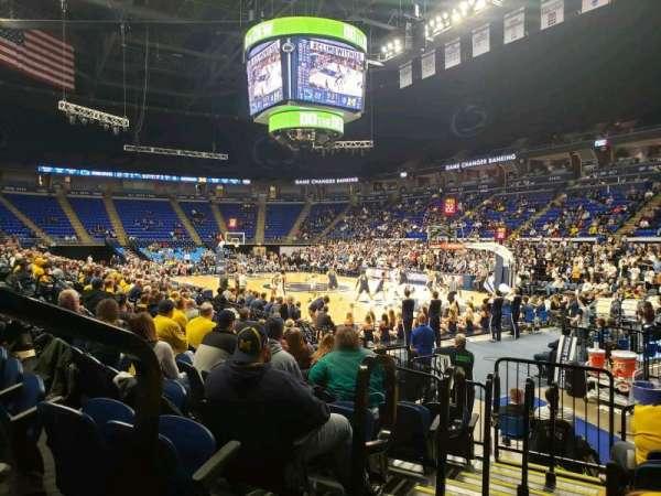 Bryce Jordan Center, section: 101, row: AA, seat: 109