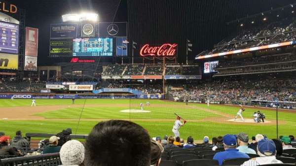 Citi Field, section: 19, row: 12, seat: 9