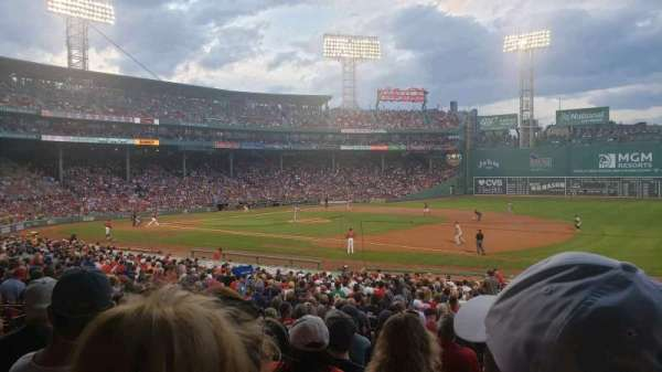 Fenway Park, section: 104, row: RR, seat: 1