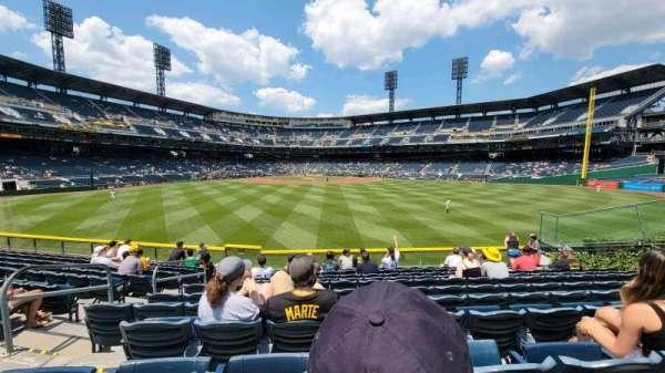 PNC Park, section: 139, row: L, seat: 16
