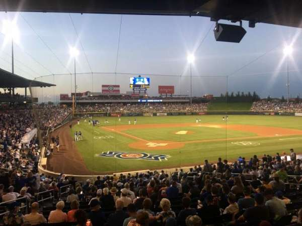 Sloan Park, section: 112, row: 24, seat: 5