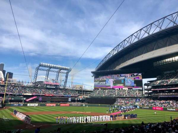T-Mobile Park, section: 127, row: 27, seat: 1