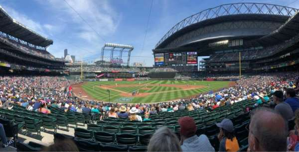 T-mobile Park, section: 128, row: 28, seat: 11