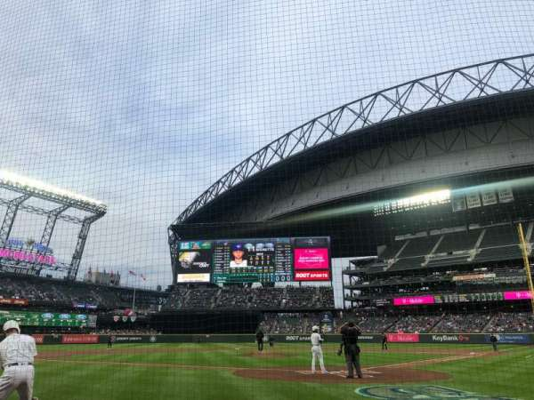 T-mobile Park, section: 33, row: C, seat: 10