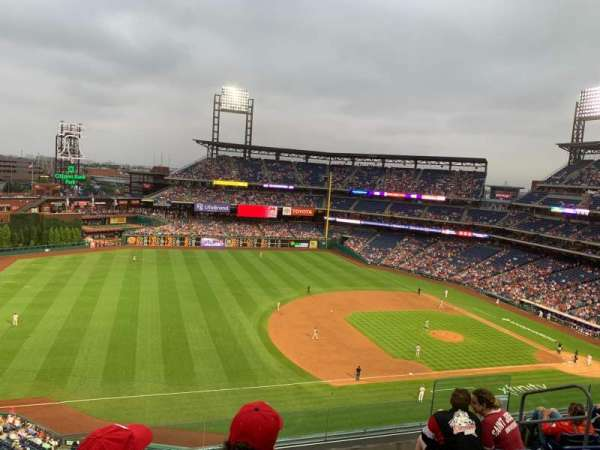 Citizens Bank Park, section: 329, row: 6, seat: 8