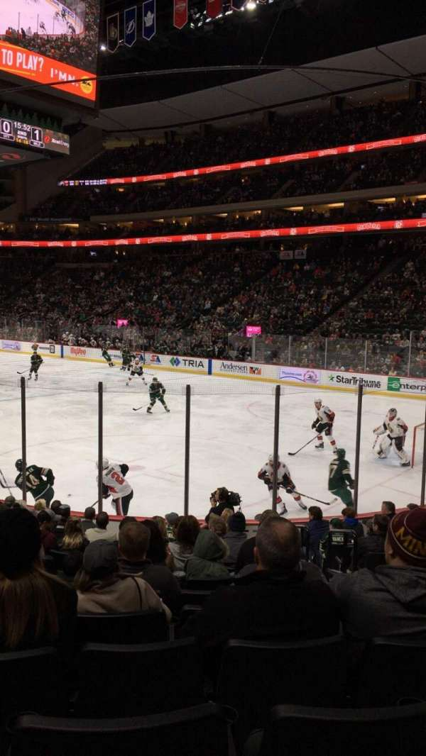 Xcel Energy Center, section: 126, row: 13, seat: 4