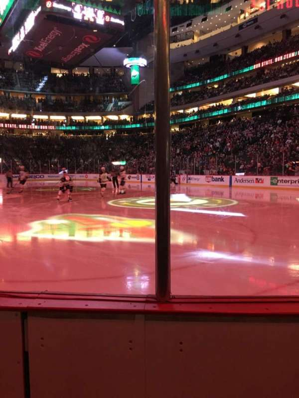 Xcel Energy Center, section: 112, row: 2, seat: 5