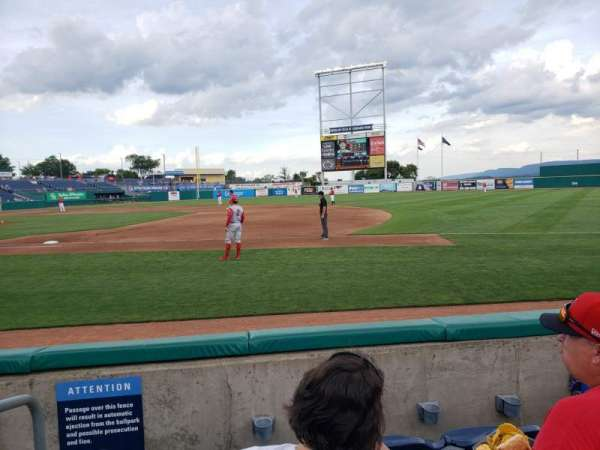 Medlar Field at Lubrano Park, section: 204, row: 4, seat: 1