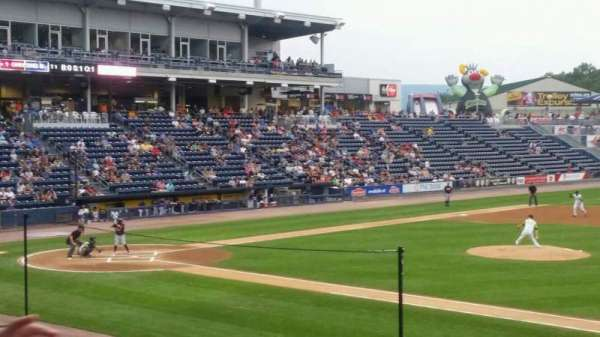 PNC Field, section: 15, row: 13, seat: 13