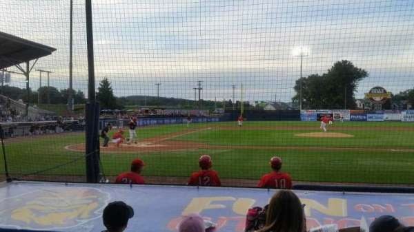 BB&T Ballpark at Historic Bowman Field, section: d, row: i, seat: 3