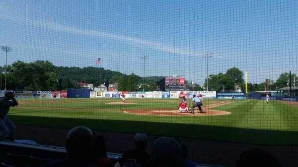 BB&T Ballpark at Historic Bowman Field, section: j, row: 8, seat: 1