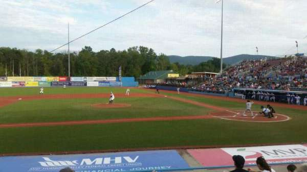 Dutchess Stadium, section: 109, row: j, seat: 3