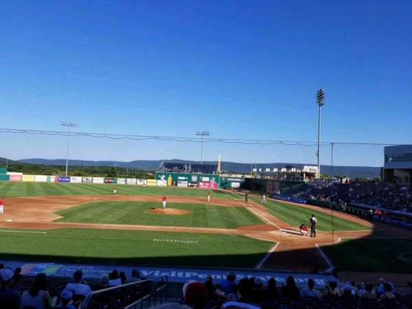 Medlar Field at Lubrano Park, section: 103, row: 14, seat: 1