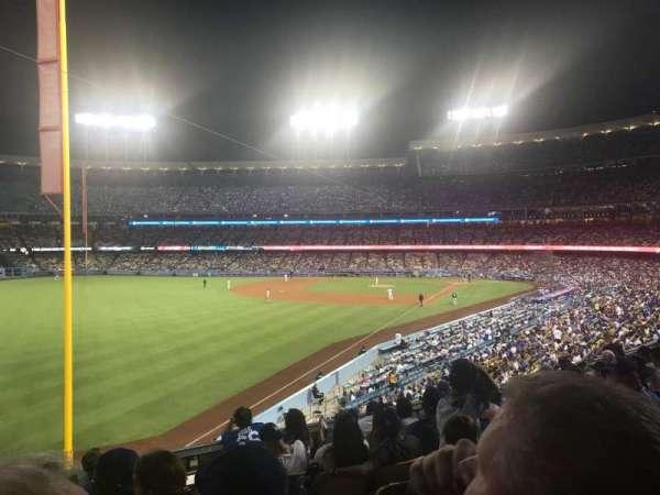 Dodger Stadium, section: 163LG, row: H, seat: 2