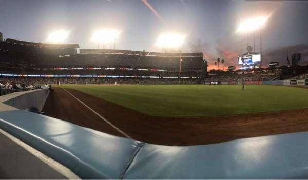 Dodger Stadium, section: 48FD, row: AA, seat: 4