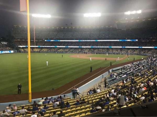 Dodger Stadium, section: 163LG, row: A, seat: 1