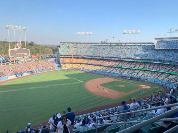 Dodger Stadium, section: 41RS, row: FF, seat: 14