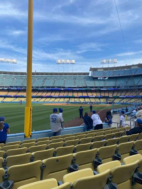 Dodger Stadium, section: 49FD, row: G, seat: 15