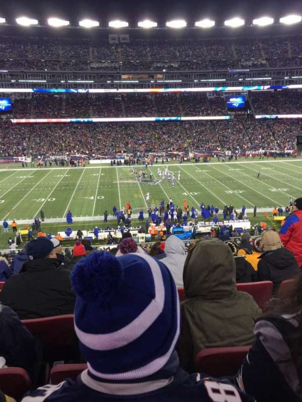 Gillette Stadium, section: CL32, row: 8, seat: 8