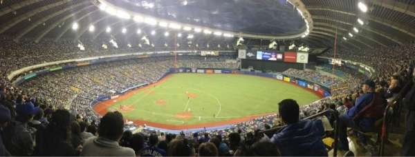 Olympic Stadium, Montreal, section: 421, row: 1, seat: 1