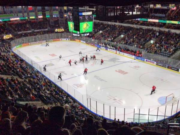 Budweiser Gardens Section 312