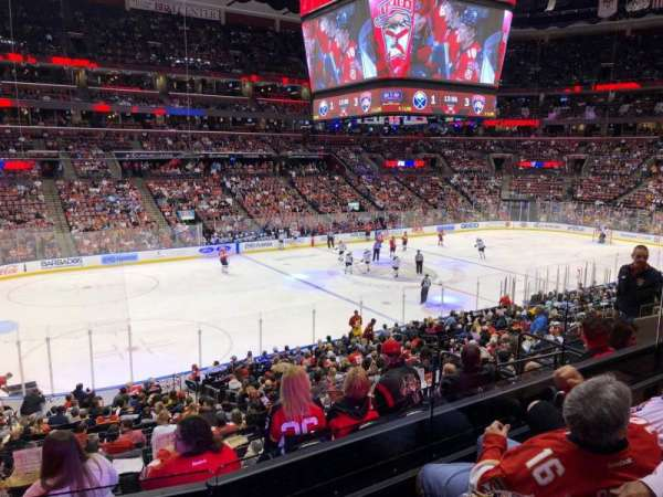 BB&T Center, section: 122, row: 22, seat: 9