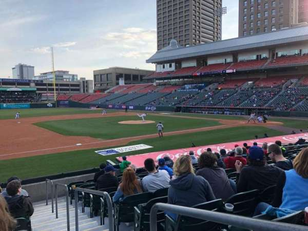 Coca-Cola Field, section: 115, row: M, seat: 1
