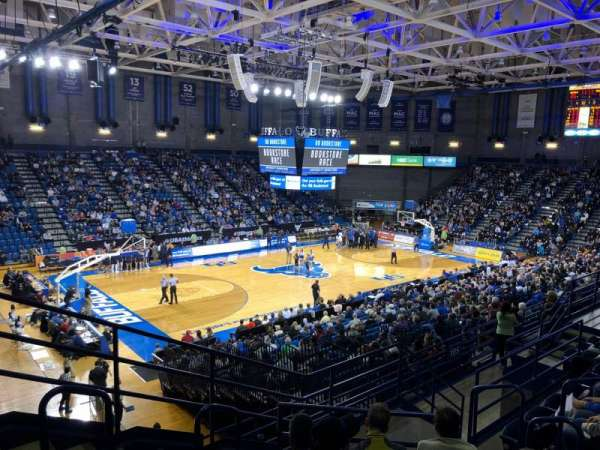 Alumni Arena (University at Buffalo), section: 209, row: G, seat: 9
