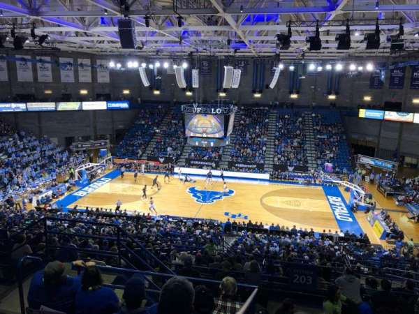 Alumni Arena (University at Buffalo), section: 305, row: F, seat: 9