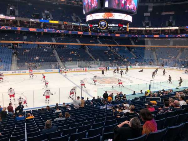 KeyBank Center, section: 106, row: 19, seat: 16
