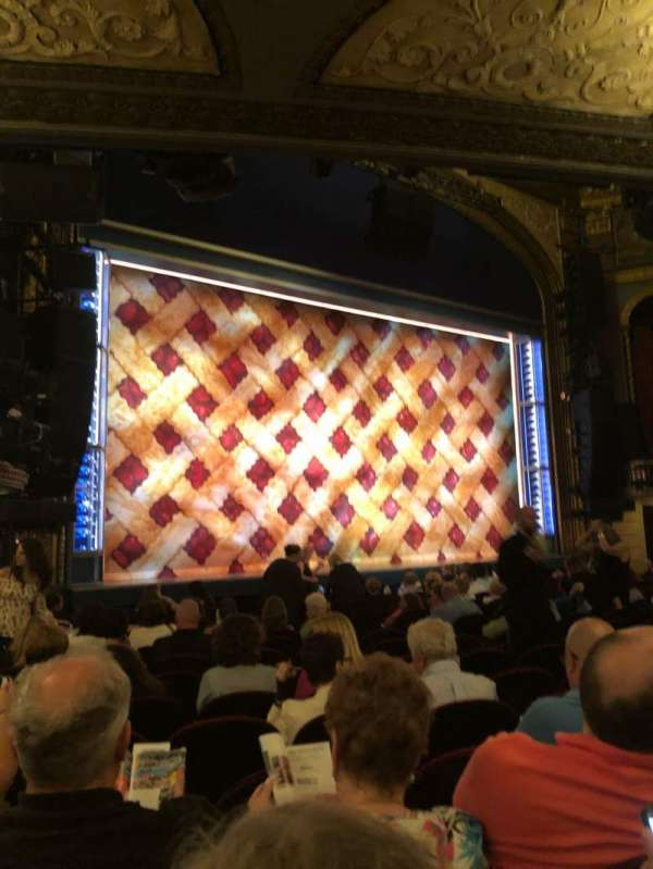 Brooks Atkinson Theatre, section: Orchestra L, row: N, seat: 19